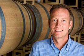 Winemaker Greg Bjornstad