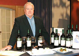 Tom Kenefick with Kenefick Ranch Wines