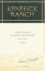 Kenefick Ranch Cabernet Sauvignon