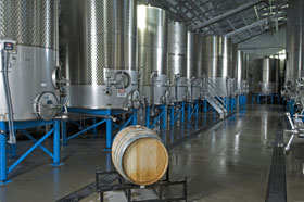 Starmont's Fermentation Tanks
