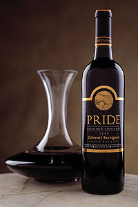 Pride Mountain Vineyards Cabernet Sauvignon