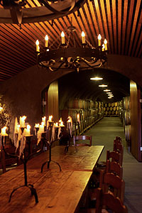 Pride Mountain Vineyards' Wine Cave