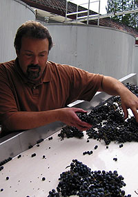 Winemaker Tim Milos (Photo Credit: Afsoon Razavi)