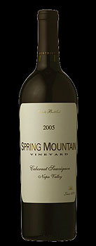 Spring Mountain Vineyard's Cabernet Sauvignon