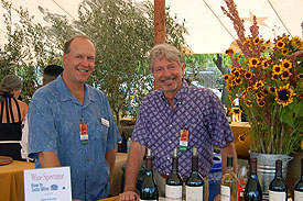 Spring Mountain Vineyard's Viticulturist Ron Rosenbrand & Winemaker Jac Cole
